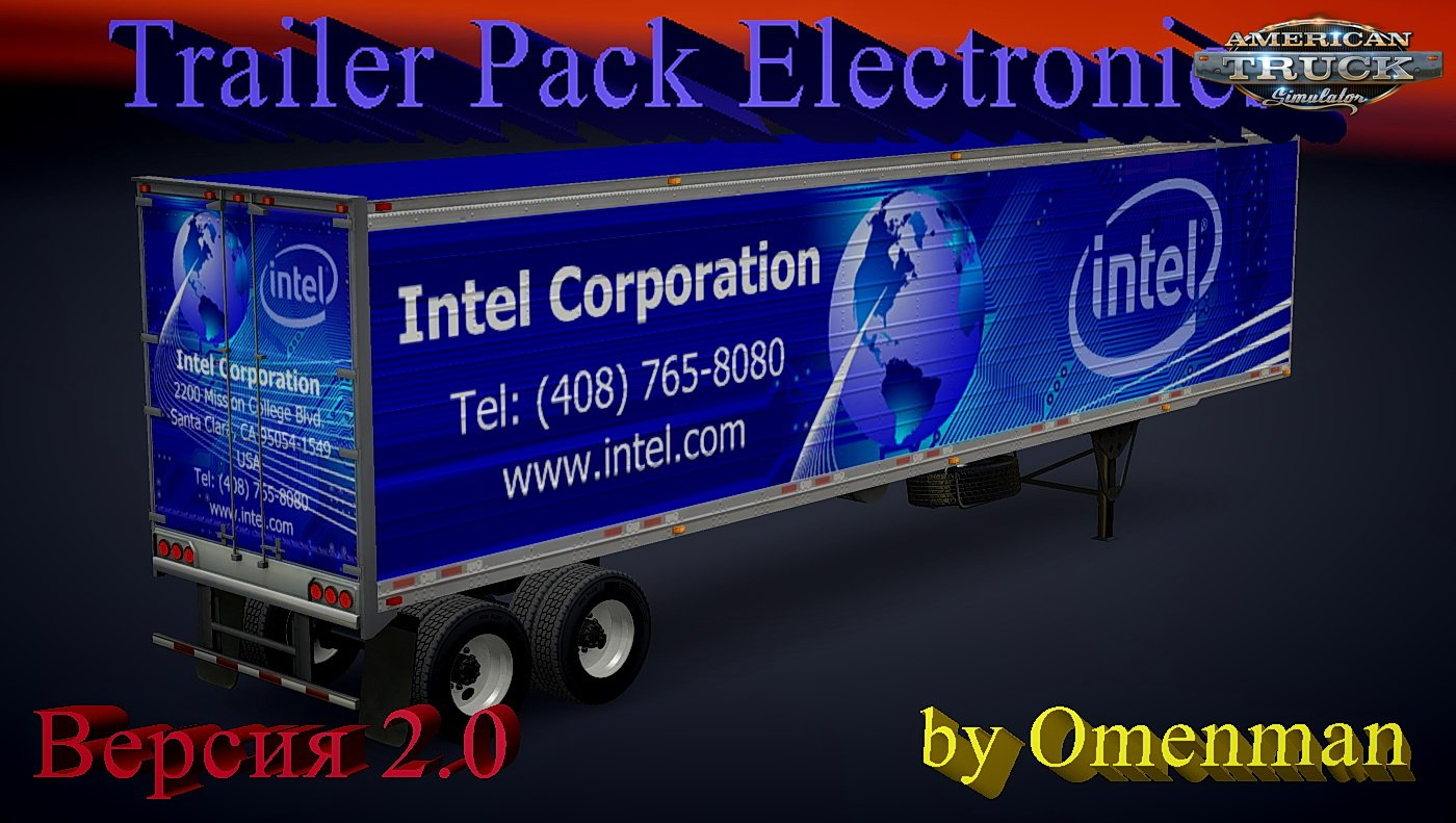 Trailer Pack Electronics v2.0 by Omenman (1.4.x)