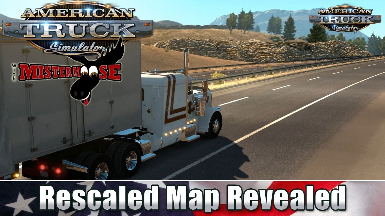 American Truck Simulator - Map Rescale - Open Beta v1.5