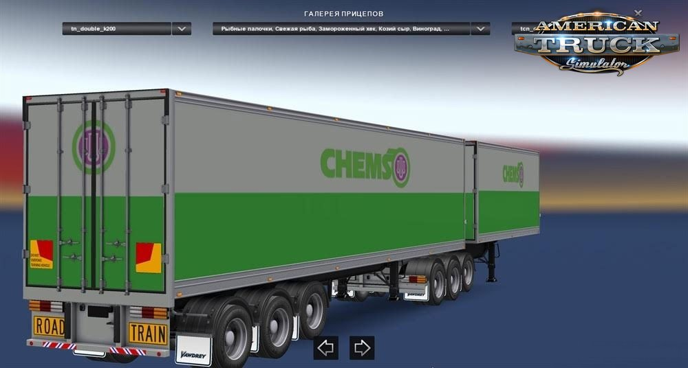 Double Trailers v3.0 for Ats
