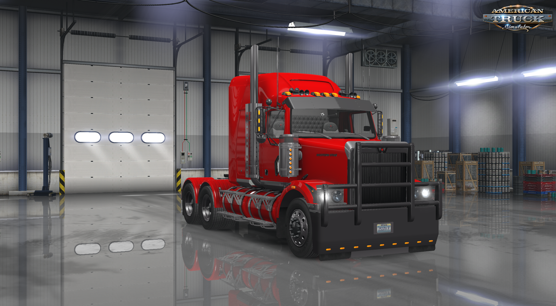 Western Star 4800 + Interior v2.0 (v1.6.x) for ATS