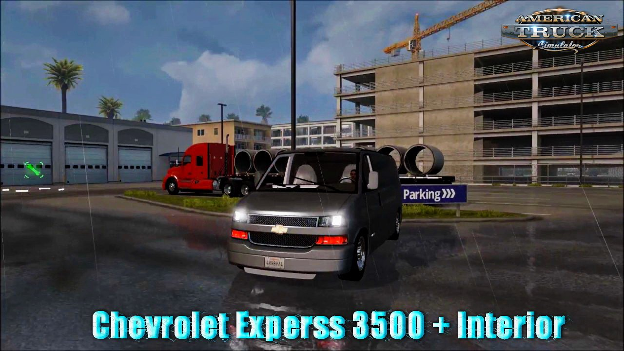 Chevrolet Experss 3500 + Interior v1.0 (v1.5.x)