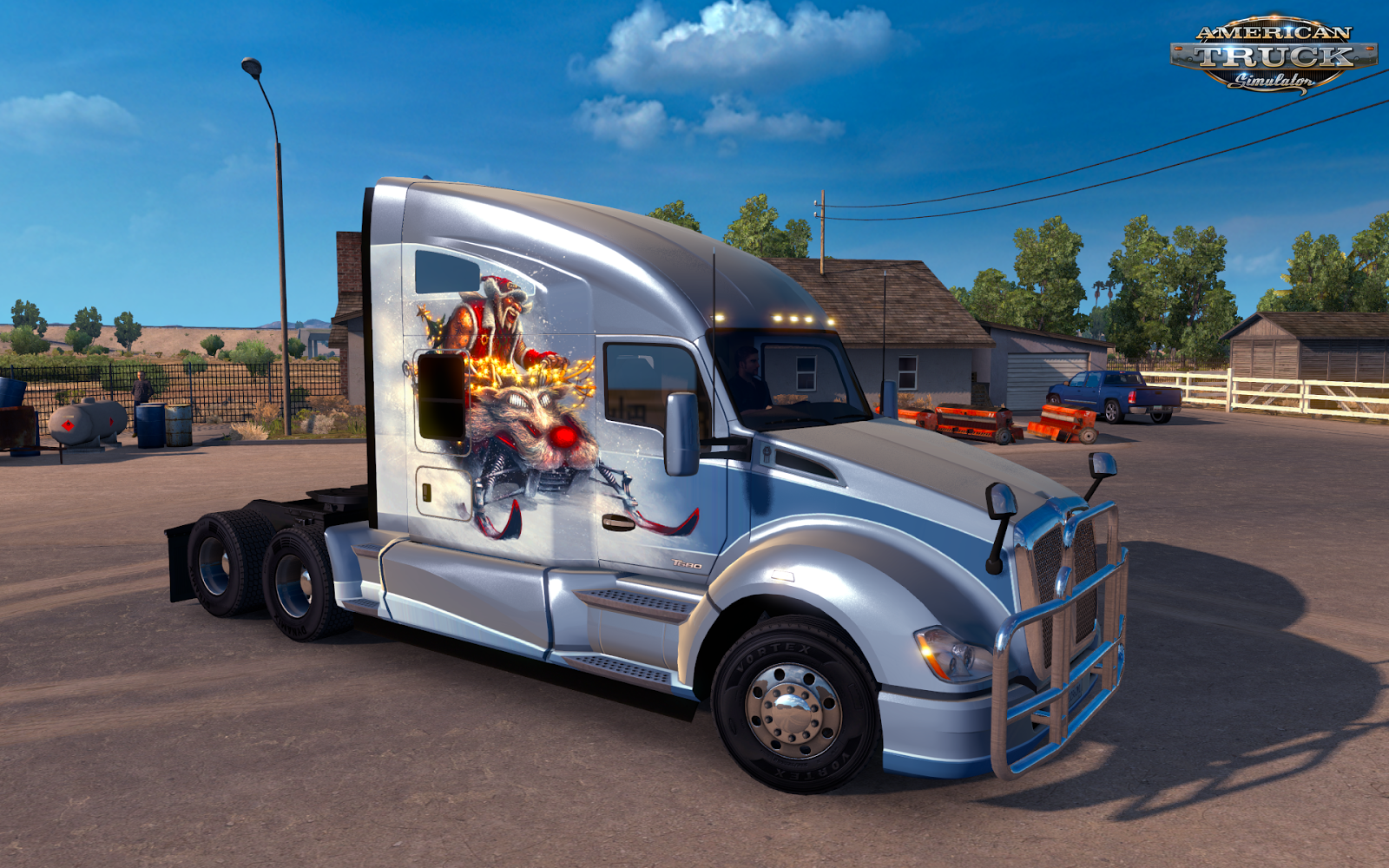Christmas Paint Jobs Pack for American Truck Simulator » American Truck Simulator mods | ATS ...