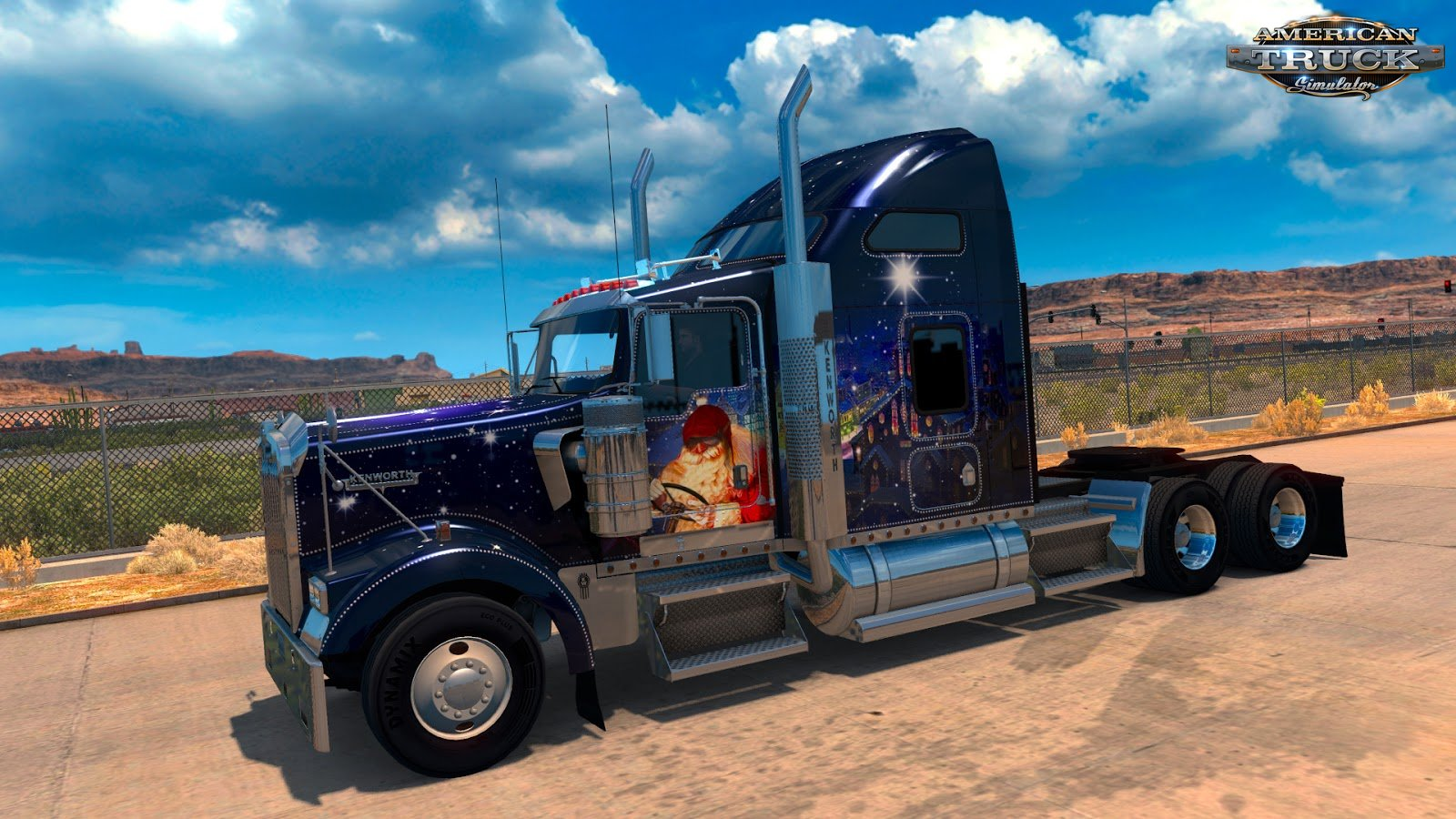 Christmas Paint Jobs Pack for American Truck Simulator