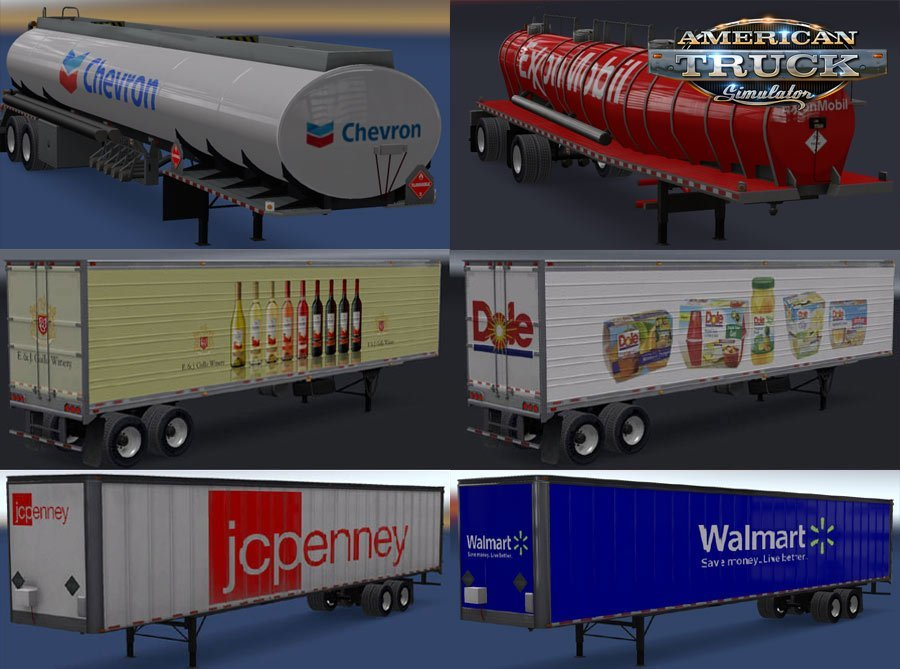 Real Companies & Trailers Pack v1.6 (v1.32.x)