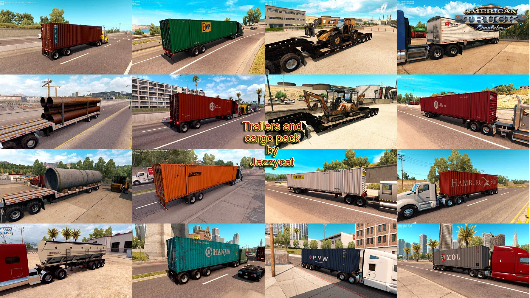 Trailers and Cargo Pack v1.3 by Jazzycat [1.5.x]