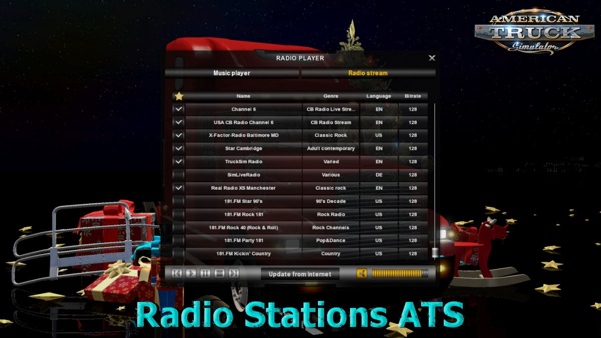 New Radio Stations v1.0 for ATS