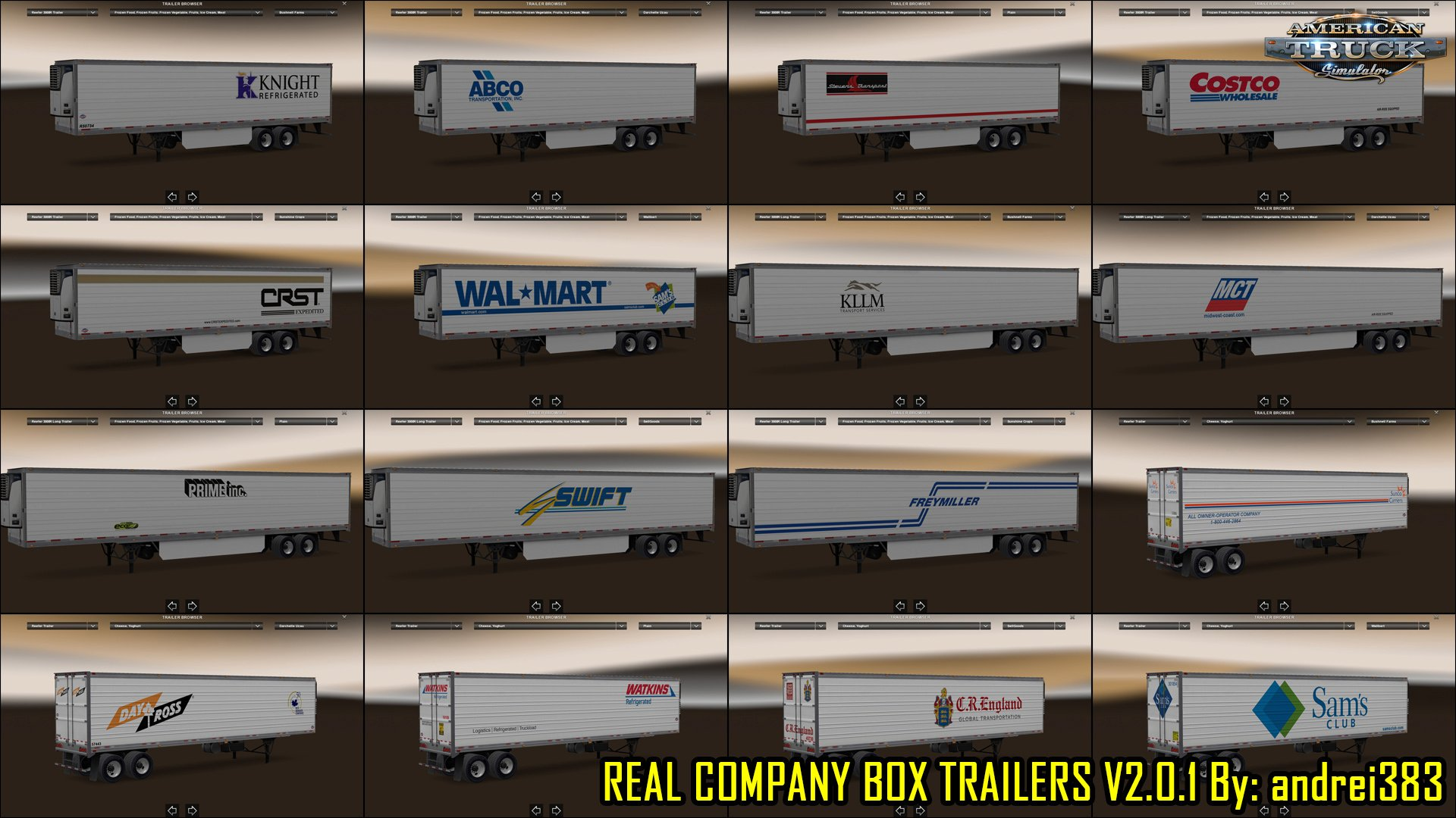 Real Company Box Trailers Skins v2.3 (v1.5.x)