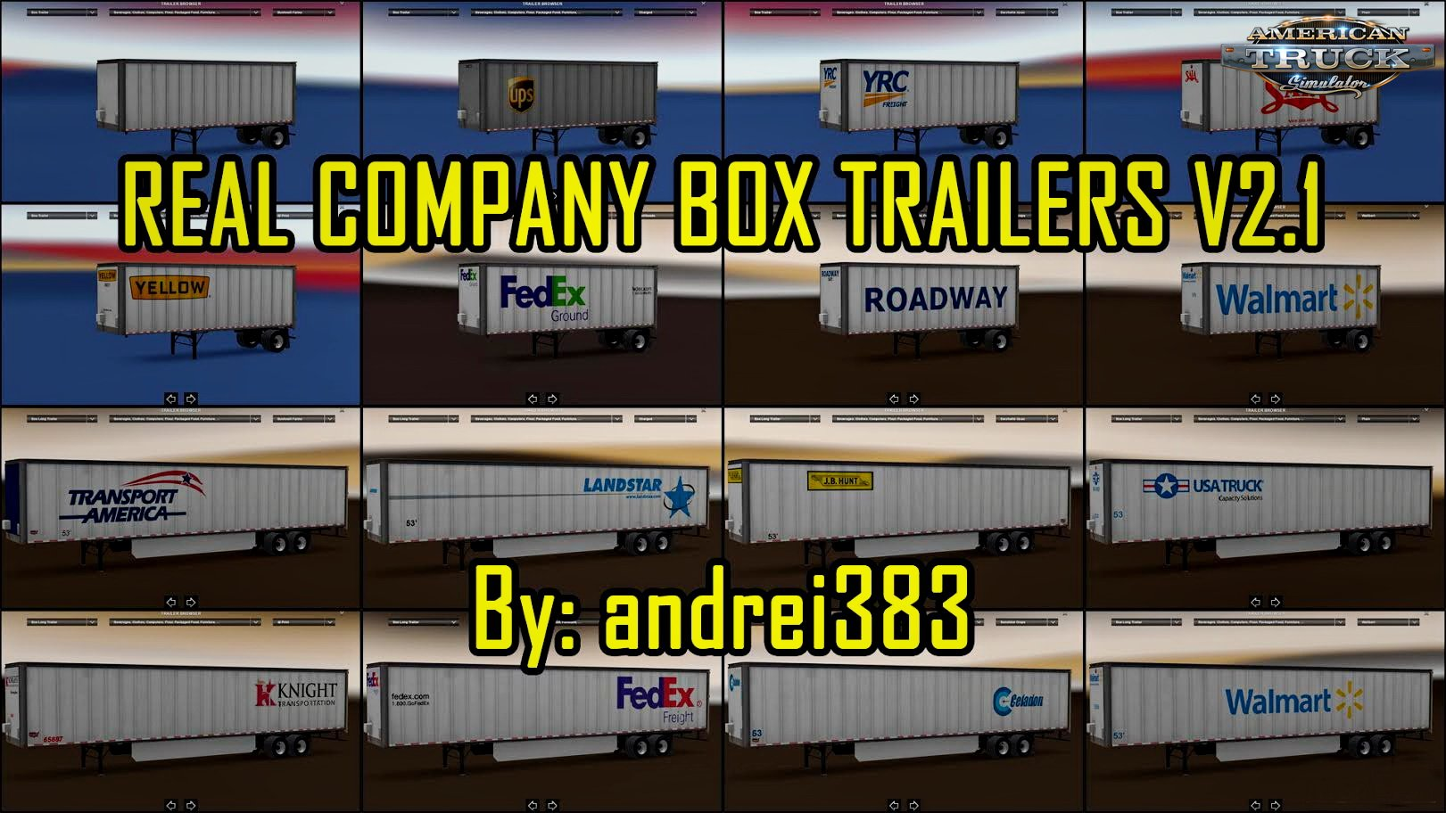 Real Company Box Trailers Skins v2.2 (v1.5.x)