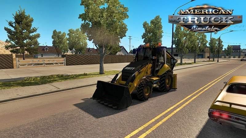 Ai Traffic Excavator mod Mutt 422 for Ats