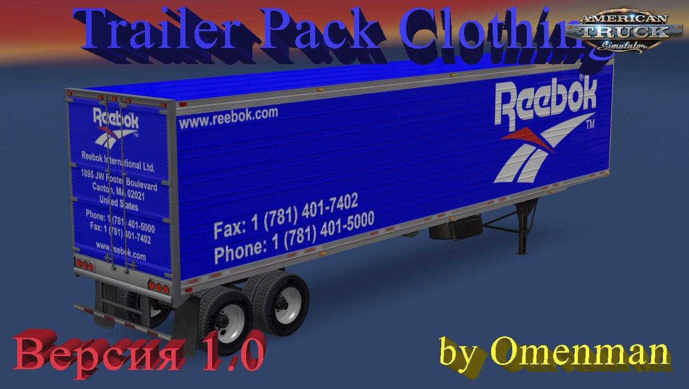 Trailer Pack Clothing v 1.0 for Ats