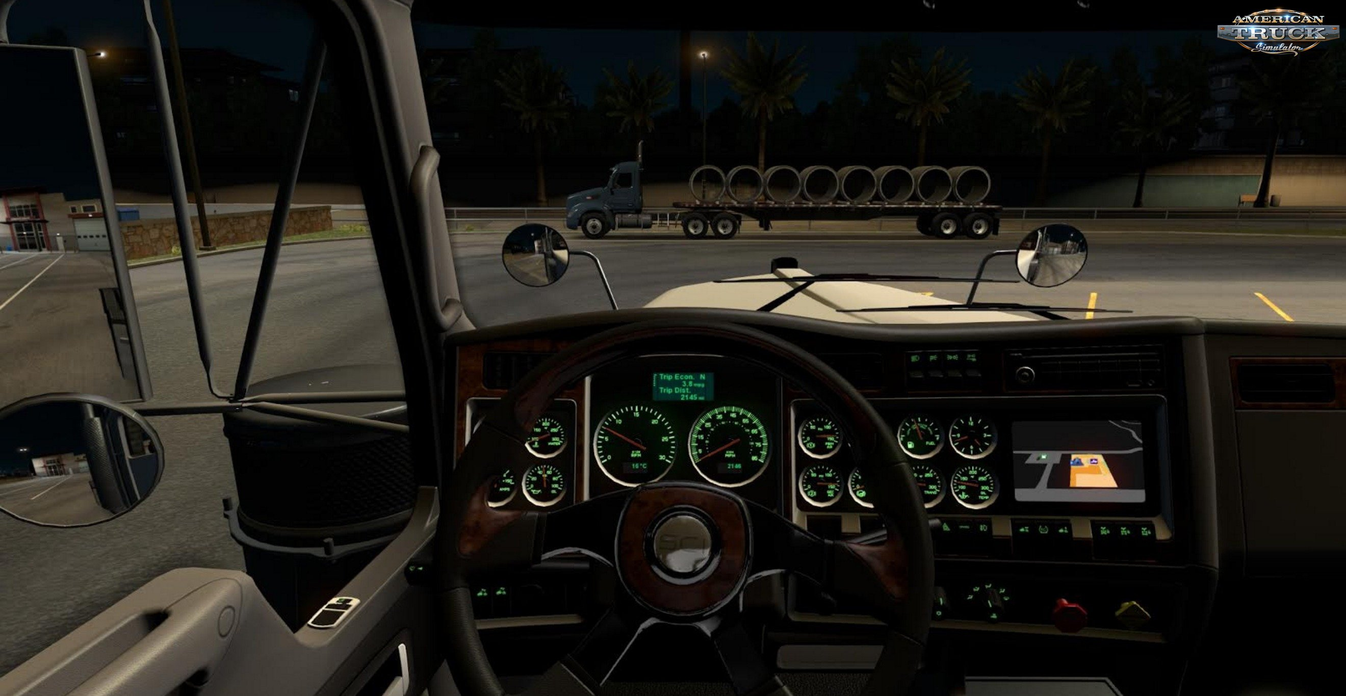 Colored Dashboard Backlight for W900 in Ats