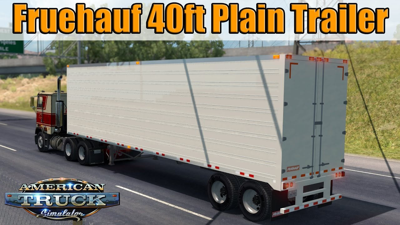 Trailer Fruehauf 40ft Plain - American Truck Simulator