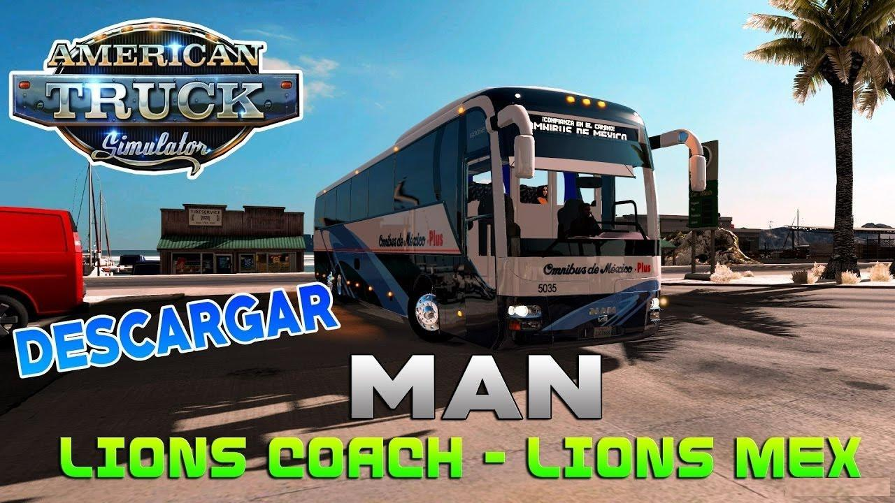 Bus MAN Lion Coach + Interior v1.0 (v1.5.x)