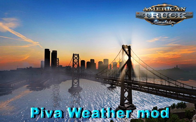 Piva Weather mod v3.2 (v1.28.x)