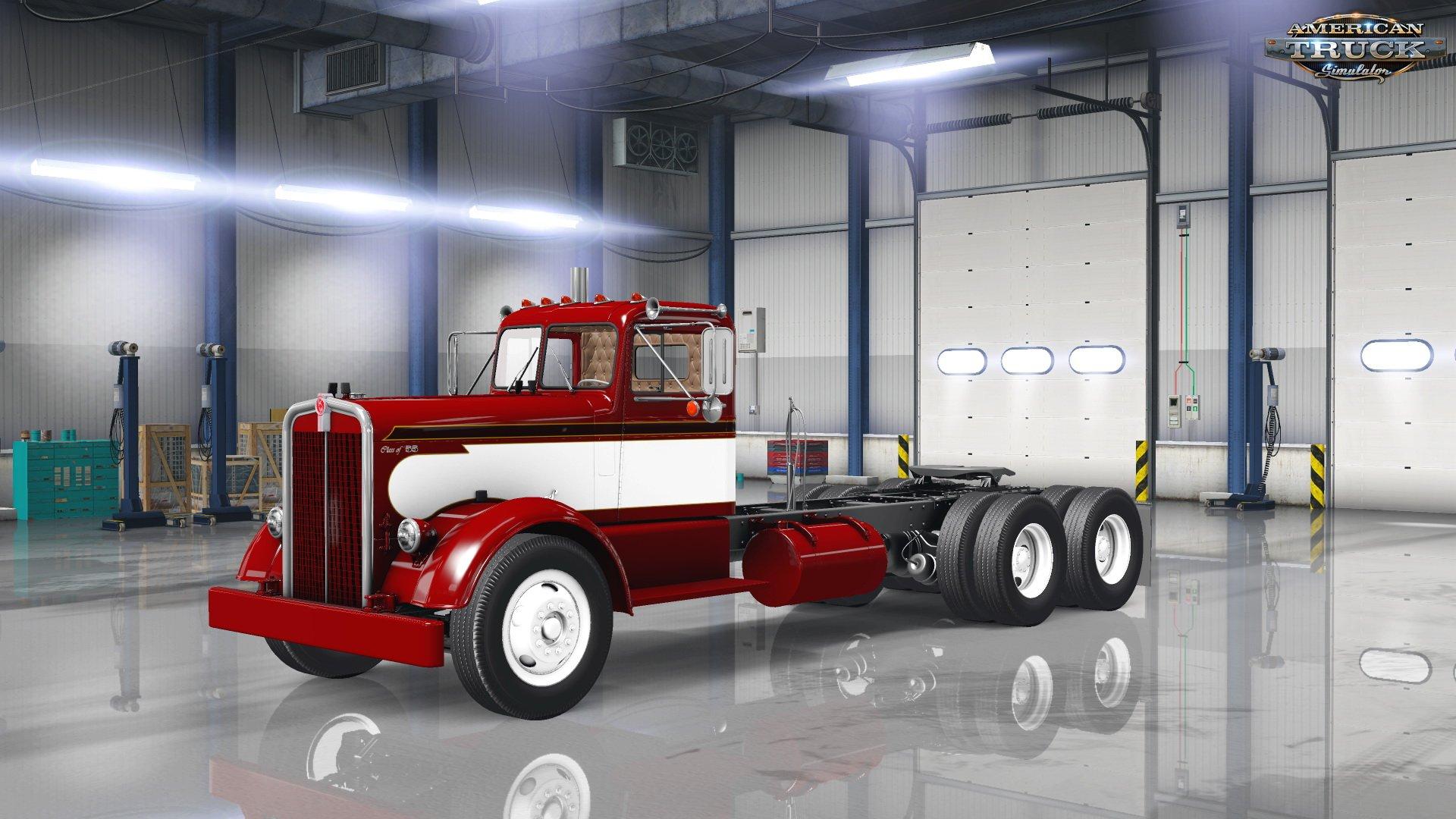 Classic Paint Sheme Skin for Kenworth 521 v1.0 (v1.5.x)