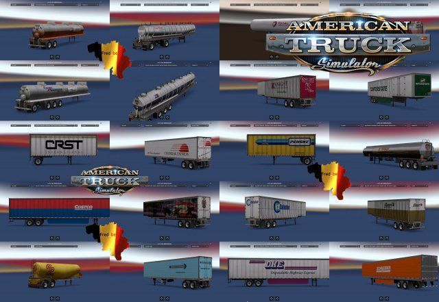 Standalone Trailers Pack for  Ats [1.5.x]