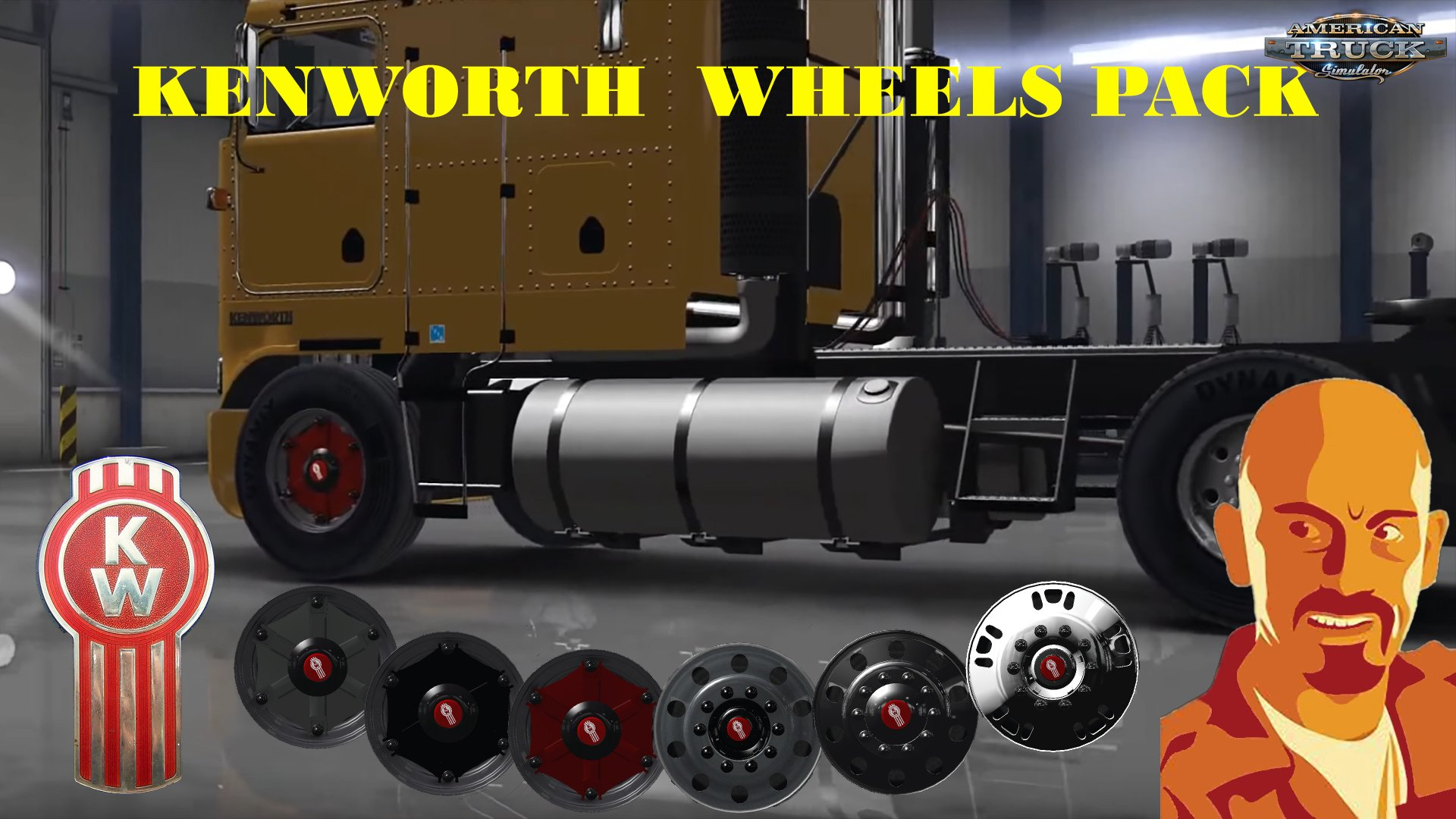 Kenworth Wheels Pack v1.0 (v1.5.x)