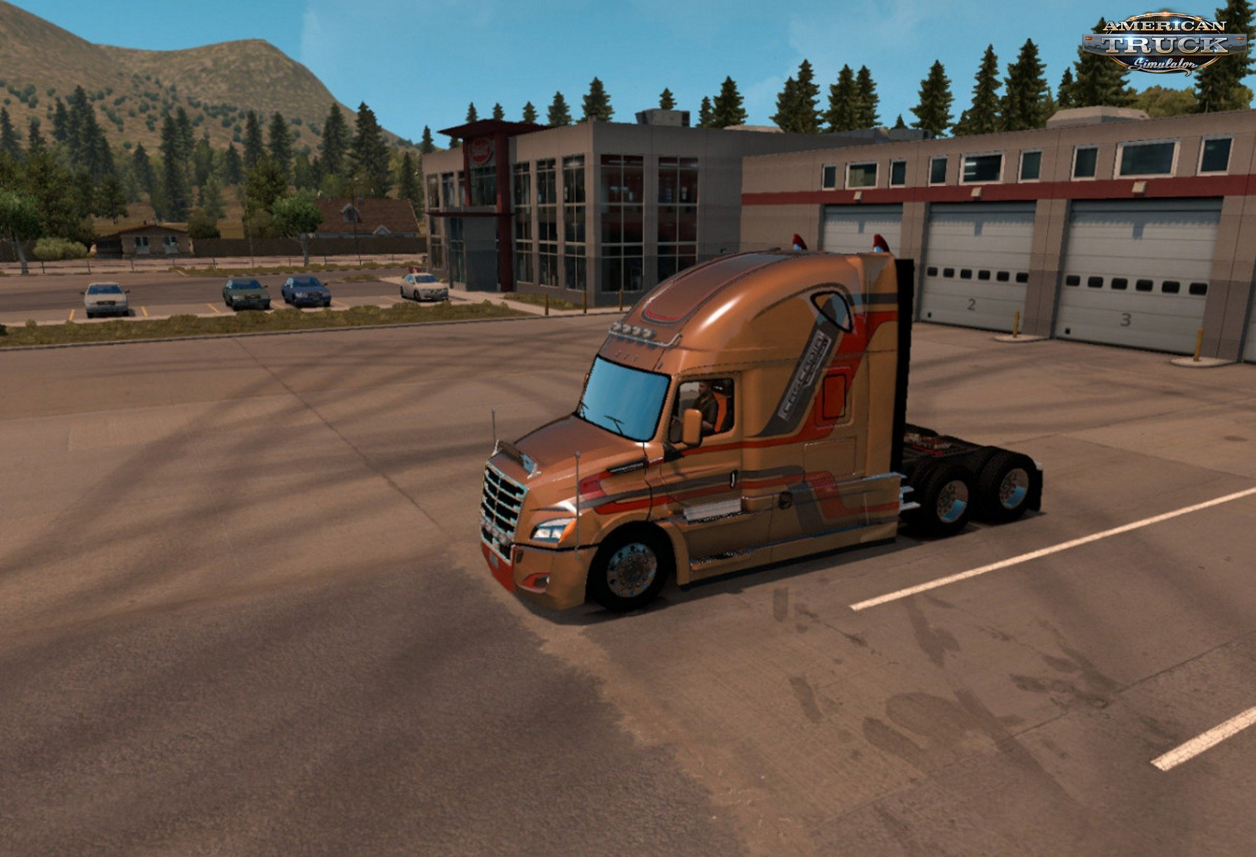 Evolution Skin for Freightliner Cascadia 2018 v1.0 (v1.5.x)