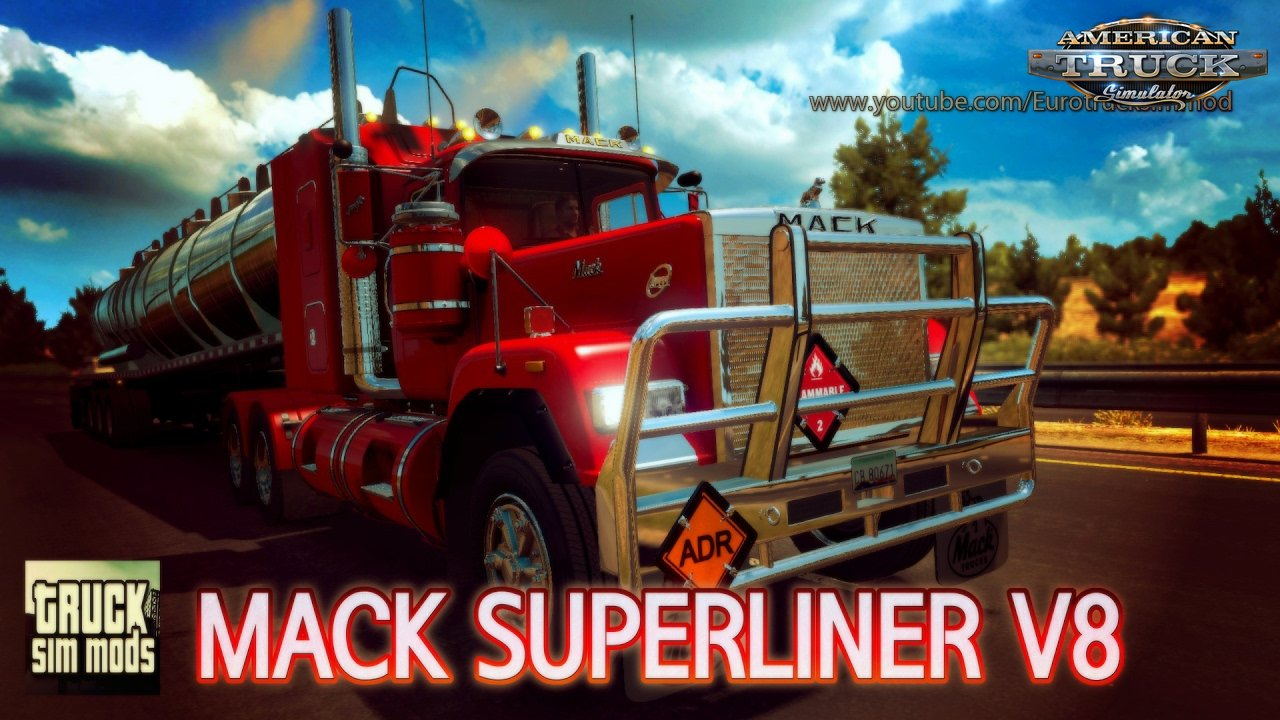 Mack Superliner V8 - American Truck Simulator