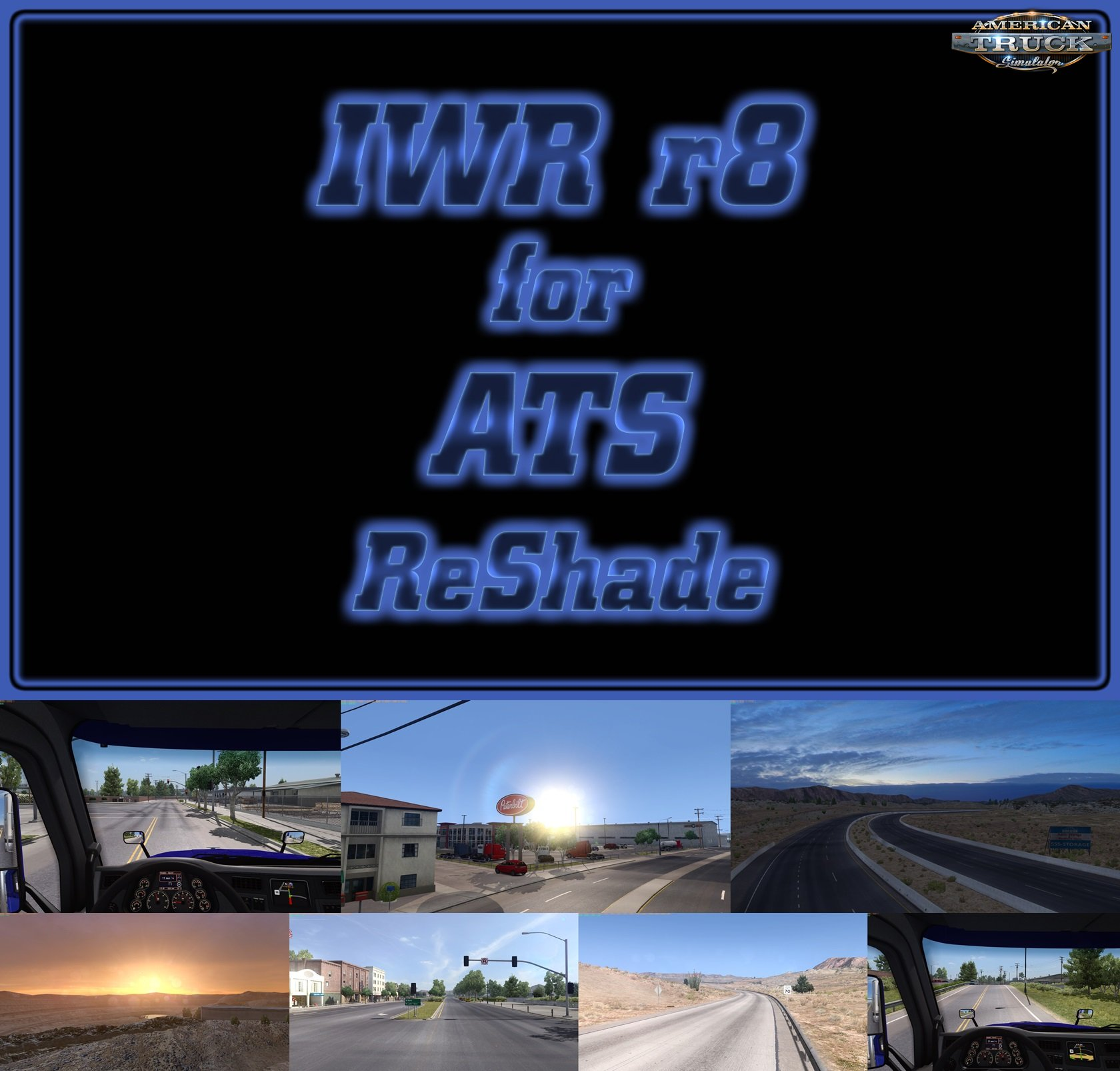 IWR r8 for ATS with ReShade