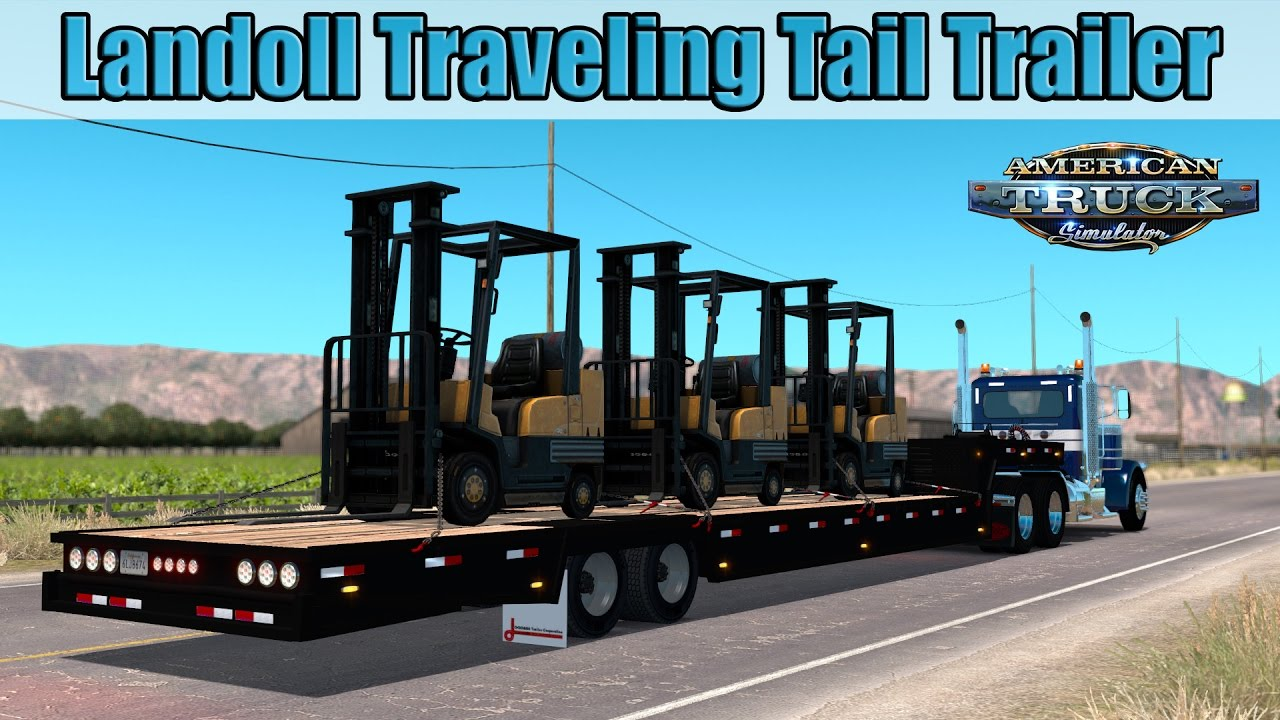 Trailer Landoll Traveling Tail v1.0 (v1.6.x)