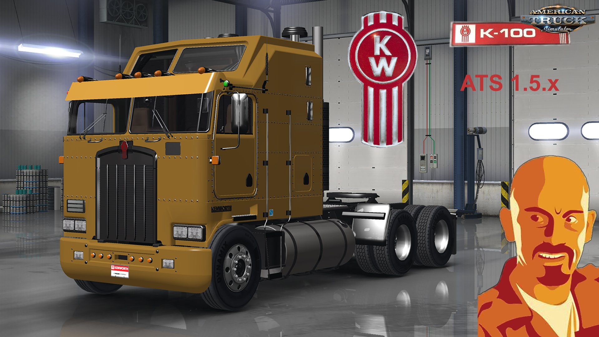 Kenworth K100 for ATS 1.5.x