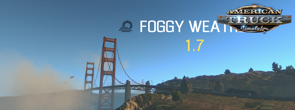 Foggy Weather 1.7.1 - Ats Edition [1.5.x]