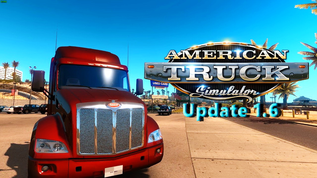 American Truck Simulator Update 1.6 Open Beta