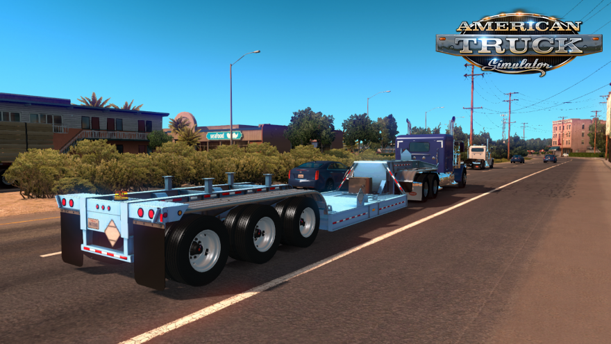 BWS Specialized Nuclear Waste Transport Trailer for Ats