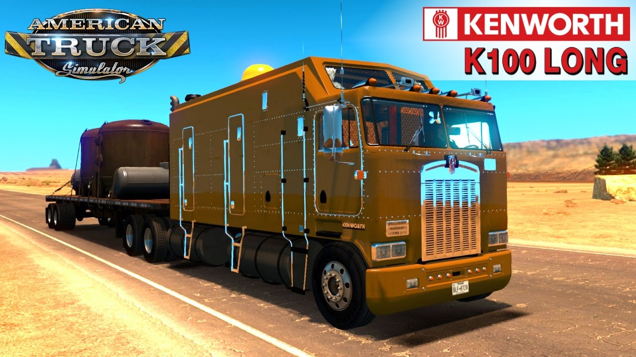Kenworth K100 Long Edition (1.6.x) - American Truck Simulator