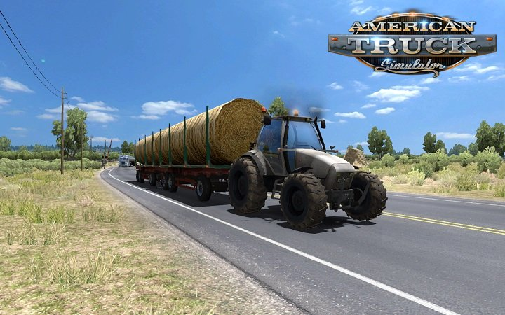 Tractor with trailers in traffic for Ats [1.6.x]