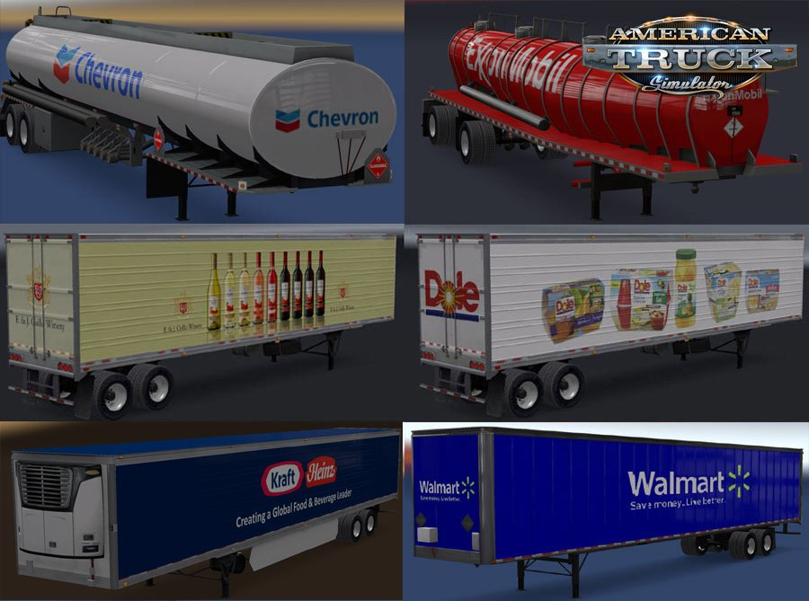 Real Companies & Trailers Pack v1.4 for Ats