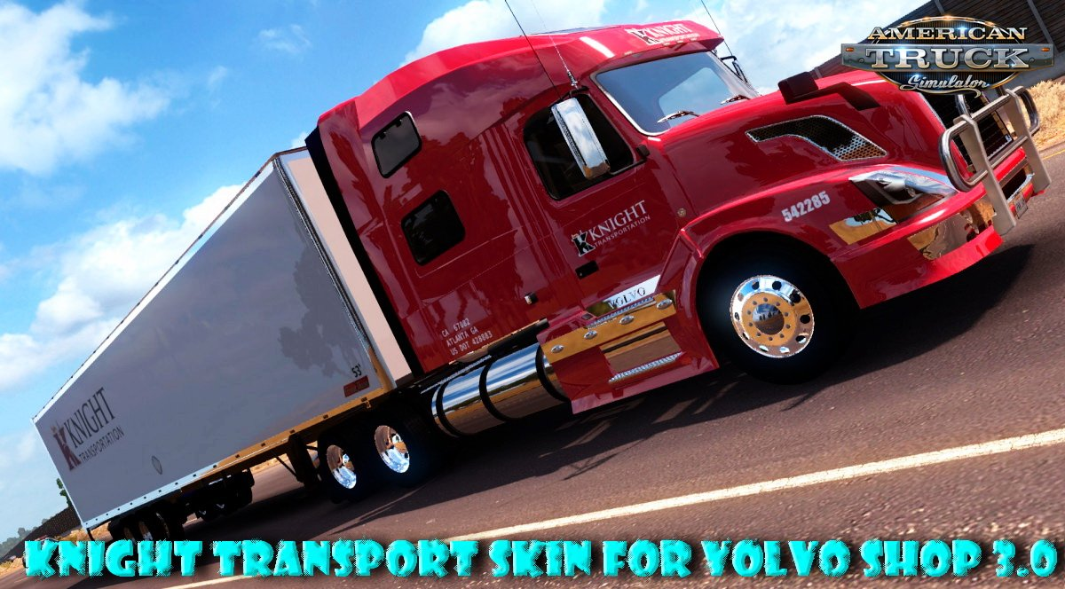 Knight Transport Skin for Volvo Shop 3.0 v1.0 (v1.6.x)