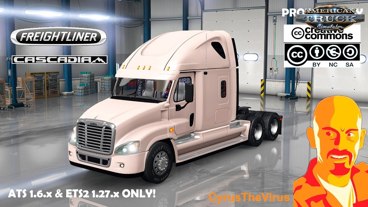 Freightliner Cascadia for Ats [1.6.x]