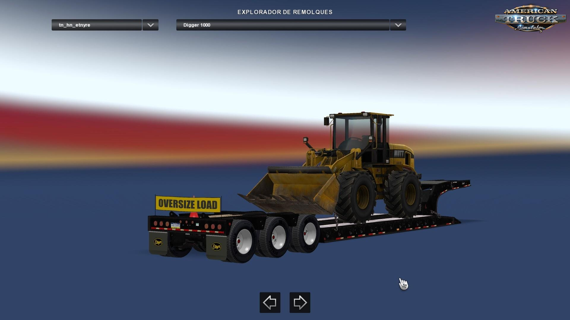 Trailer Etnyre Lowboy Black Hawk v2.0 (v1.6.x)