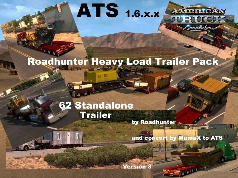 Roadhunter Heavy Transport Pack. v3.0 (v1.6.x)