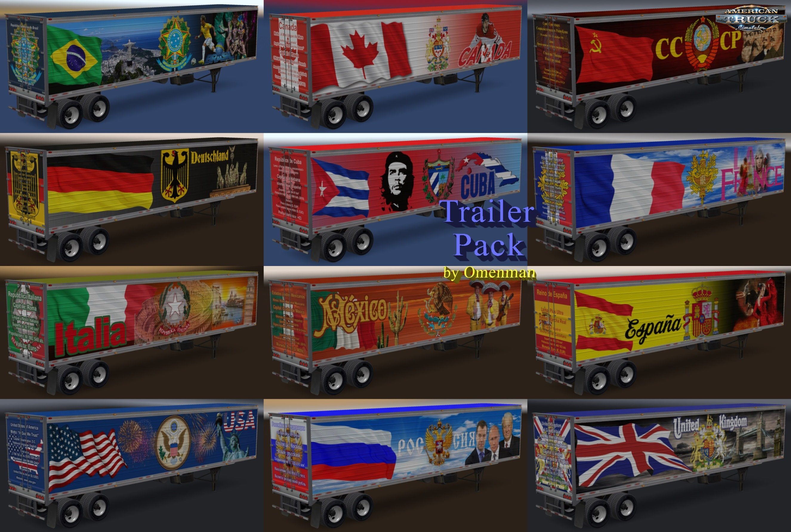 Trailer Pack by Omenman v9.0 (1.6.x)