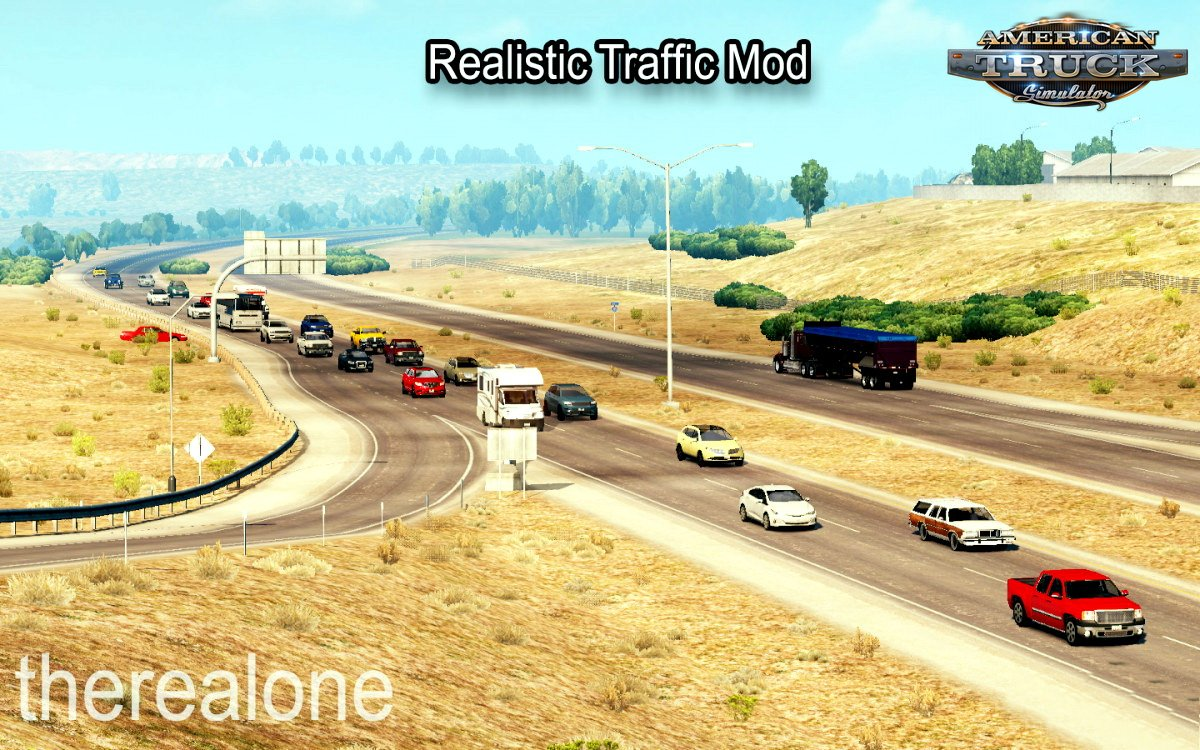 Realistic Traffic Mod v2.1 (v1.6.X)