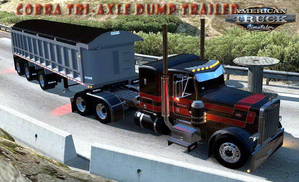 Cobra Tri-Axle Dump Trailer v1.0 (v1.6.x)