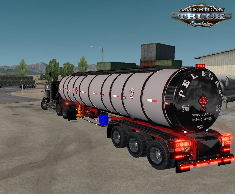 3 axle Chrome Tanker Trailer v1.0 (v1.6.x)