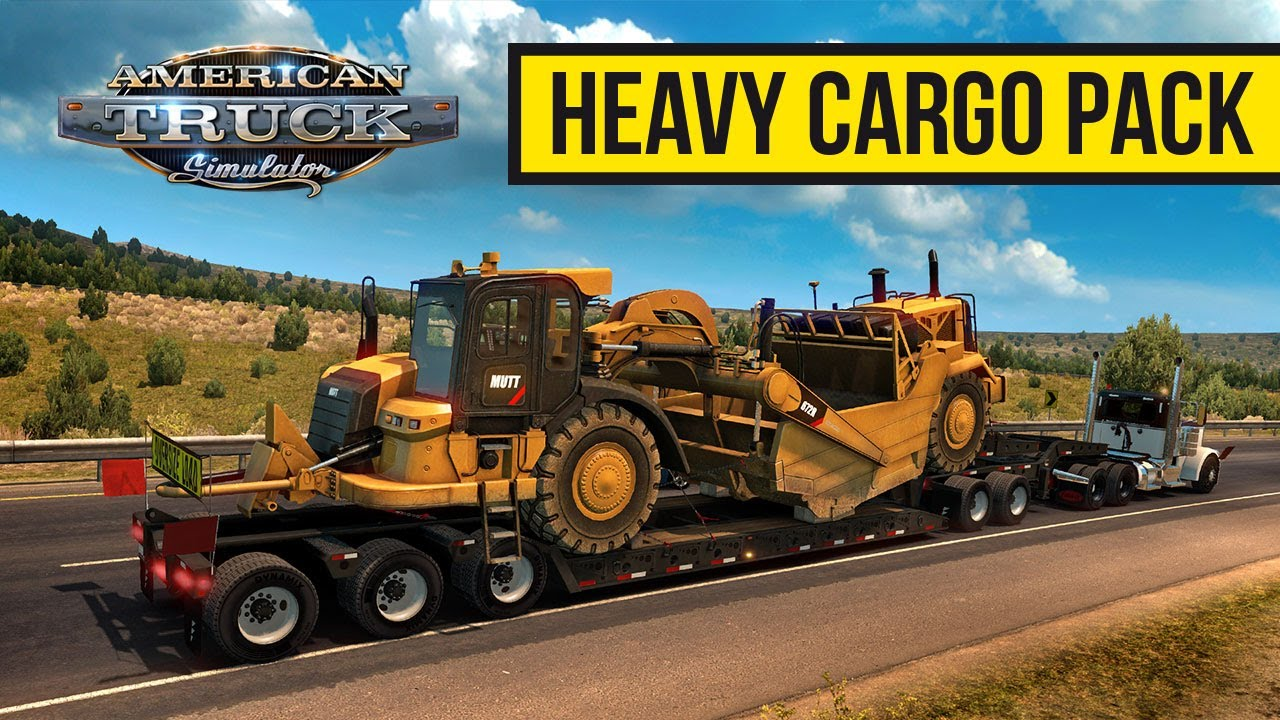 Download Heavy Cargo Pack DLC for American Truck Simulator