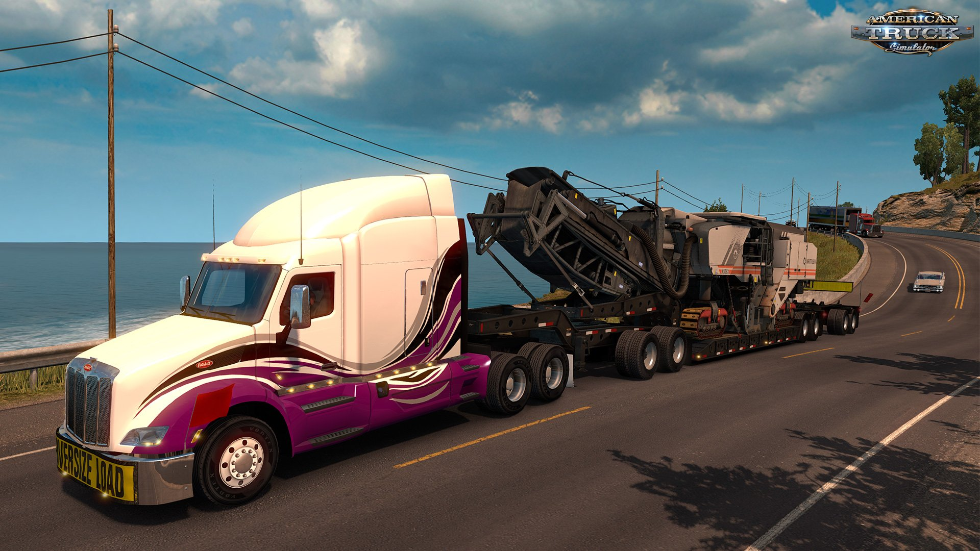 download heavy cargo pack dlc for american truck simulator. Black Bedroom Furniture Sets. Home Design Ideas