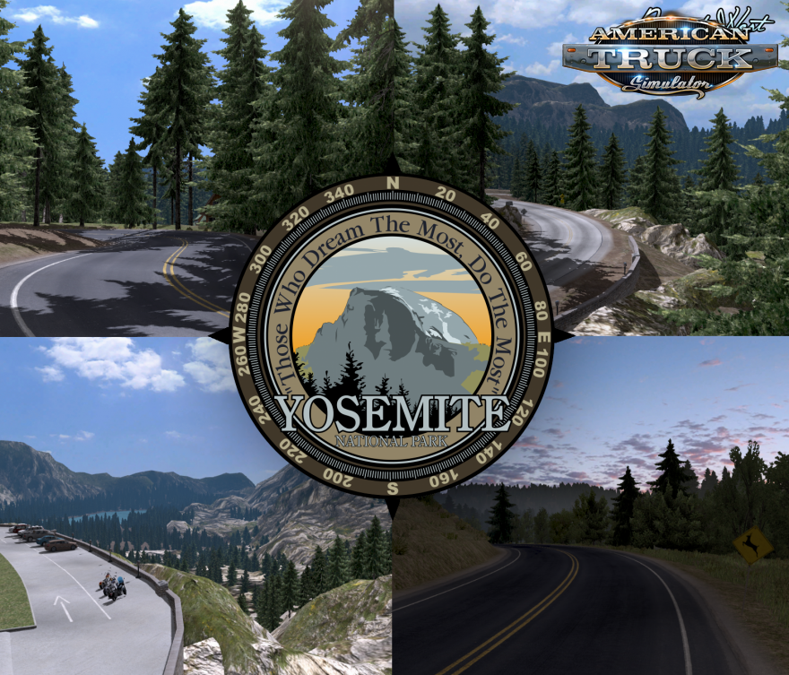 Project West Map v1.3.2 + Addon Vegas + US 50 & CA 99 (v1.6.x)