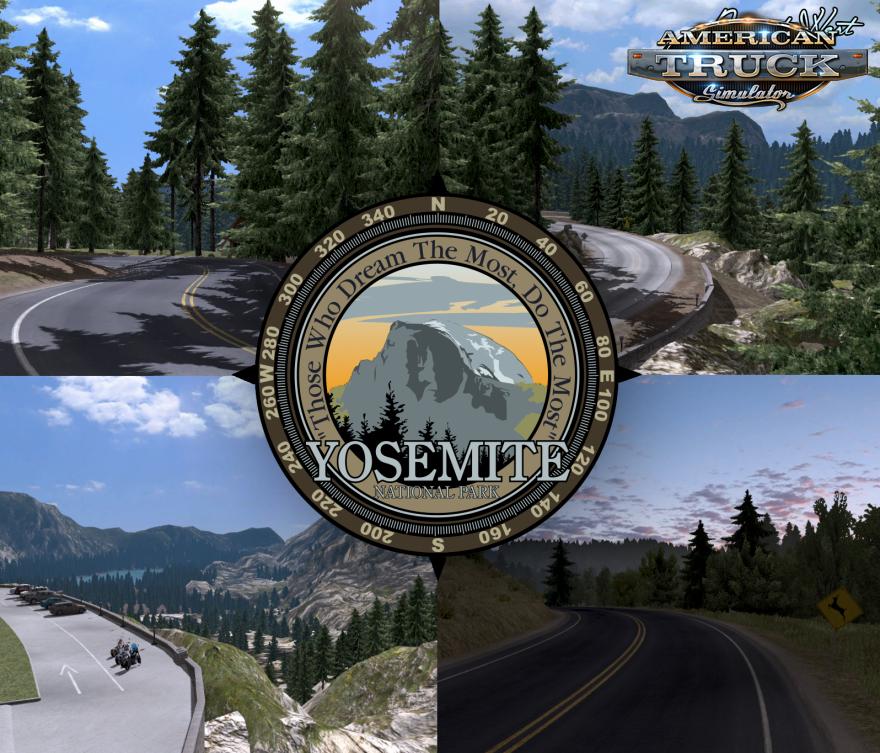 Project West Map v1.3.2 + Addon Vegas + US 50 & CA 99 (v1.6.x)