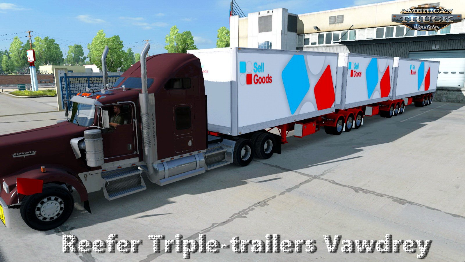 Reefer Triple-trailers Vawdrey v4.0 (v1.6.x)