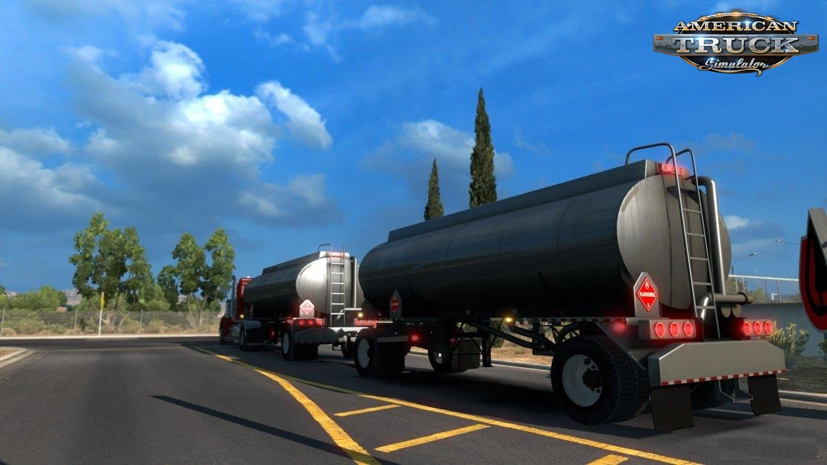 Diesel doubles trailer for Ats