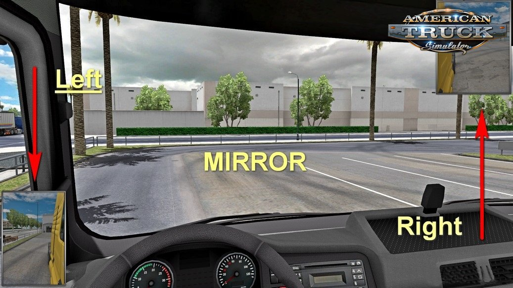 Reverse & L-R Mirrors 01 for Ats