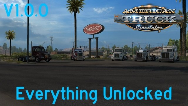 Everything Unlocked v 1.0 for Ats
