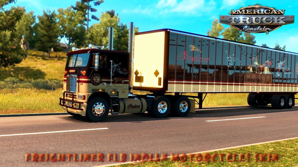Freightliner FLB Indian Motorcycles Skin v1.0 (v1.6.x)
