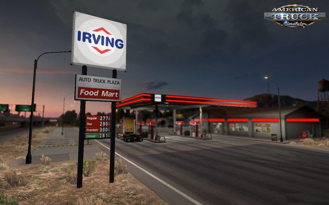 Real American Gas Stations v1.2